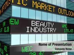 Cosmetics beauty industry business stock