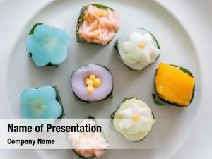 Khanom thai sweets, thai