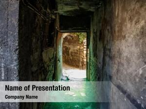 Tunnel old abandoned slum underground