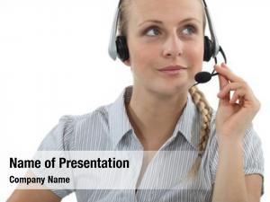 Agent blond call center