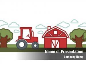 Landscape farming agriculture farmer tractor