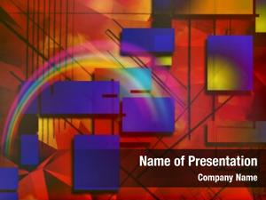 Rainbow vivid colors
