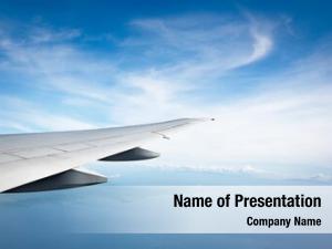 Wing ocean plane view plane