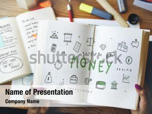 Money accounting powerpoint theme