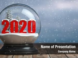 2020 happy new year, snowball