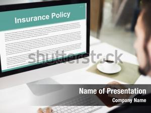 Businessman agreement insurance policy