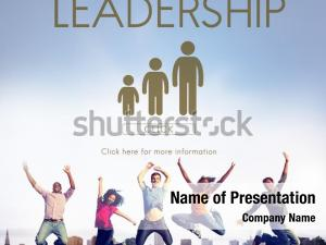 Leadership management powerpoint theme