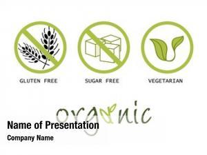 Symbols healthy food gluten free,