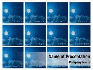 Design full set zodiac constellations