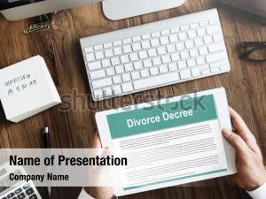 Workspace decree divorce agreement