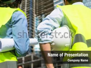 Building site civil engineers or architects