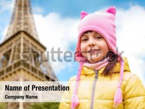 Childhood tourism powerpoint background