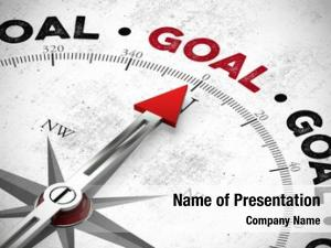Word compass points goal goal