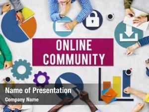 Connection online community internet concept