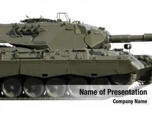 Battle european built main tank white