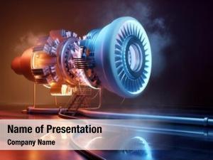 Engine futuristic jet technology