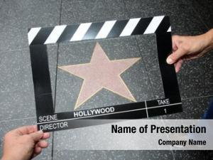 Clicker movie scene board blank