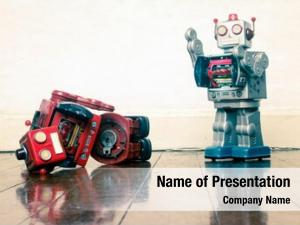 Red robot wars robot defeated