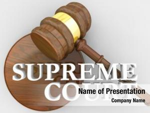 Gavel supreme court justice law