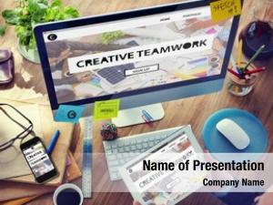 Vision digital devices creative teamwork