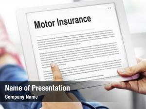 Legal motor insurance claim contract
