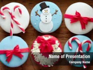 Theme cupcakes christmas