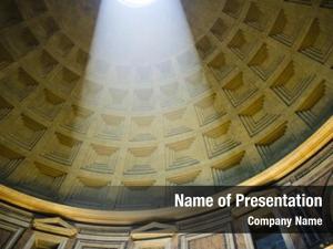Rome, interior pantheon first dedicated