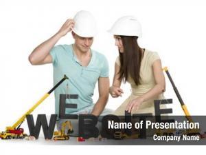 Construction website under concept: inquiring