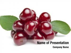 White ripe cherries