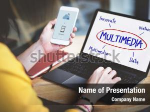 Electronic multimedia cyberspace network