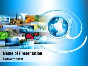 Production television internet technology concept
