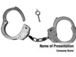 Cuffs police hand