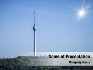 Tower television radio stutgart germany