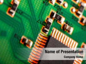 Chip computer processor circuit board