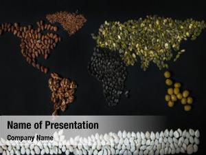 Different world map seed: walnut,