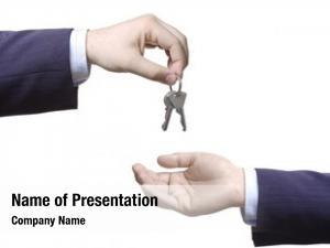 Door person passing keys