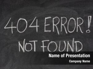 Message, internet warning 404 error,