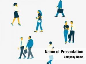 Set illustrated people various careers
