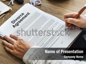 Occupation decree divorce agreement