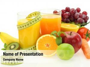 Vegetables fresh fruits, juice