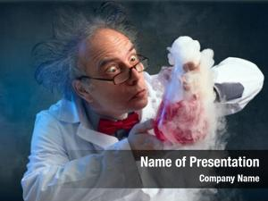 His chemist crazy experiment smell