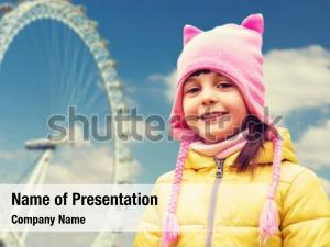 Childhood tourism powerpoint template