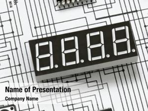 Display, macro digital chip, electronic