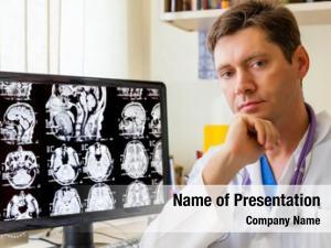Scan doctor mri brain monitior