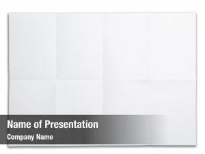 Fold blank paper mark