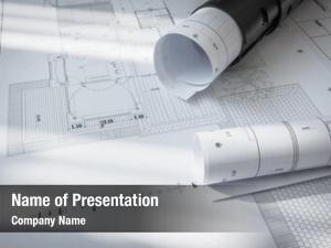 Architectural construction plans project