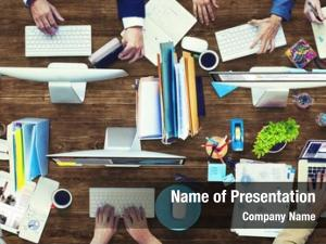 Business administration occupation corporate concept