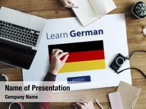 Language learn german online education
