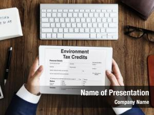 Credits environment tax document form