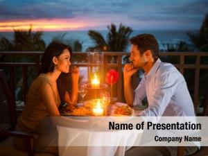 Have romantic couple dinner sunset
